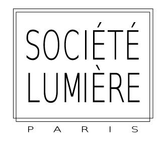 Societe Lumiere LOGO cadre